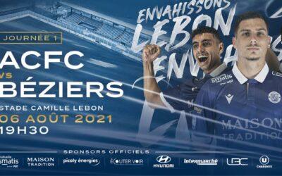 N2 – 1e j. ACFC / Béziers – avant-match