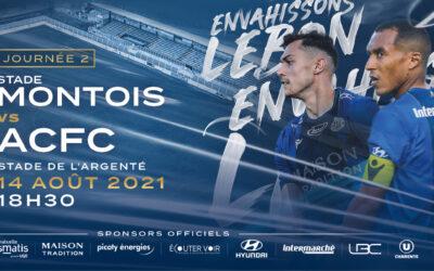 N2 – 2e j. Stade Montois / ACFC – avant-match