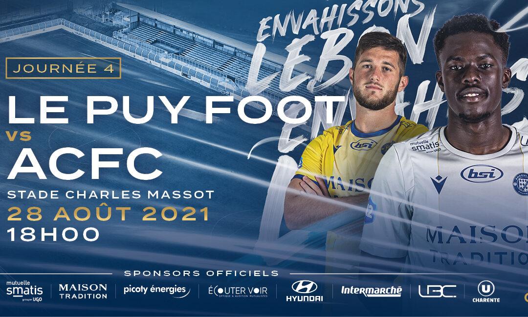 N2 – 4e j. Le Puy / ACFC – avant-match