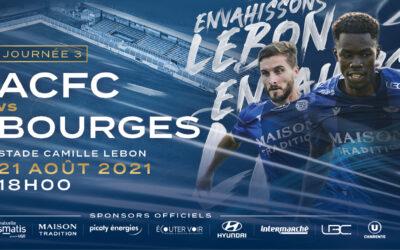 N2 – 3e j. ACFC / Bourges Foot 18 – Avant match