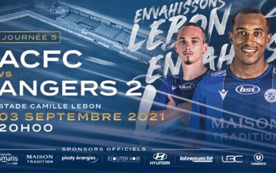 N2 – 5e j. ACFC / SCO Angers 2 – Avant-match