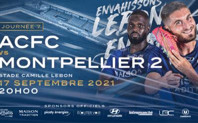 N2 – 7e j. ACFC / Montpellier 2 – avant-match
