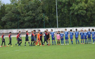 U14 – 1e j. Saintes 2 – 3 ACFC