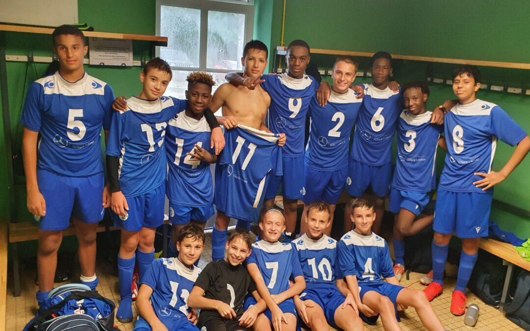 U15 – 1e j. ACFC 2 – 1 Bergerac