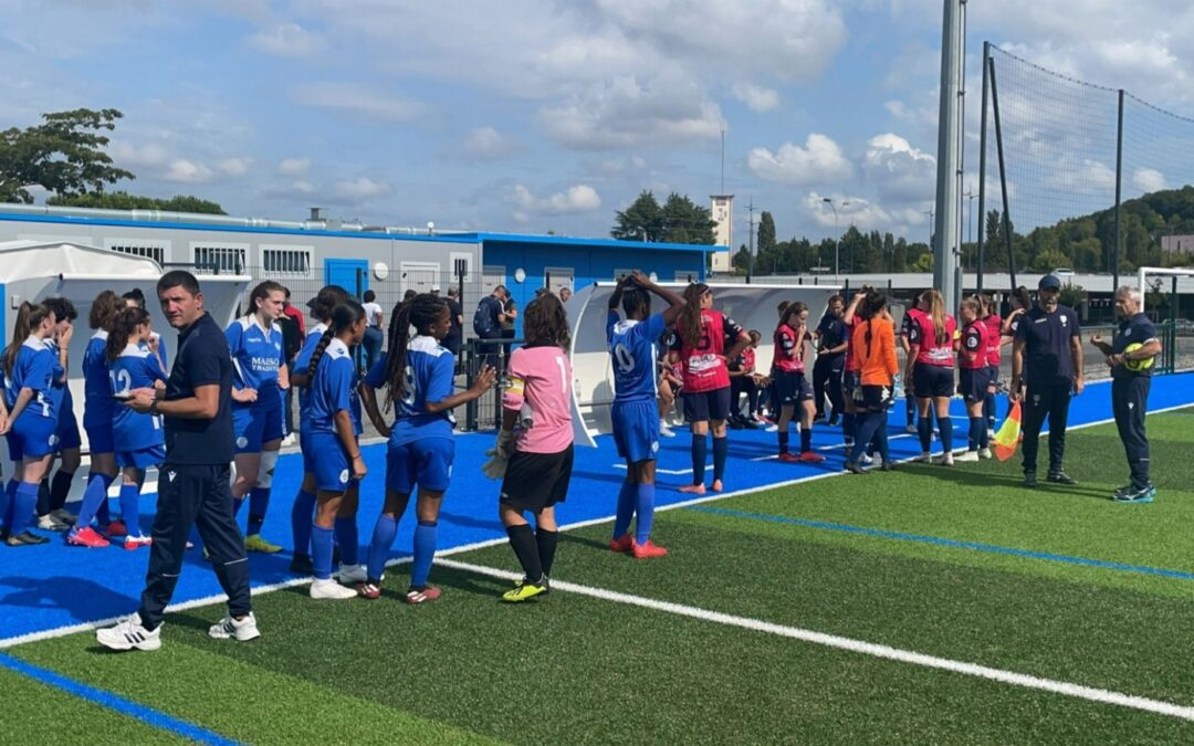 U16/U18F – 2e j. ACFC 1 – 3 Trelissac