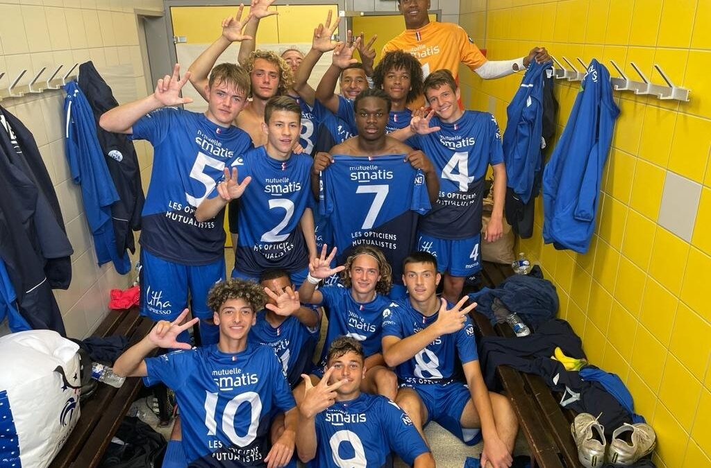 U17 – Rennes Bréquigny 0 – 2 ACFC