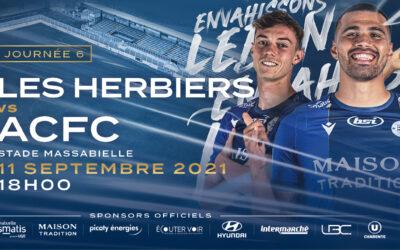 N2 – 6e j. Les Herbiers / ACFC – Avant-match