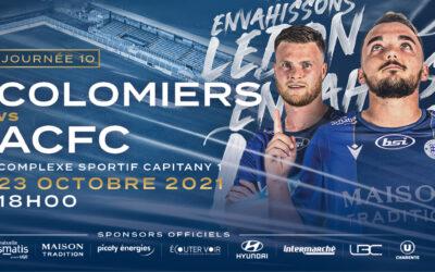 N2 – 10e j. US Colomiers – ACFC / Avant match