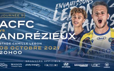 N2 – 9e j. ACFC / Andrézieux – Avant-match