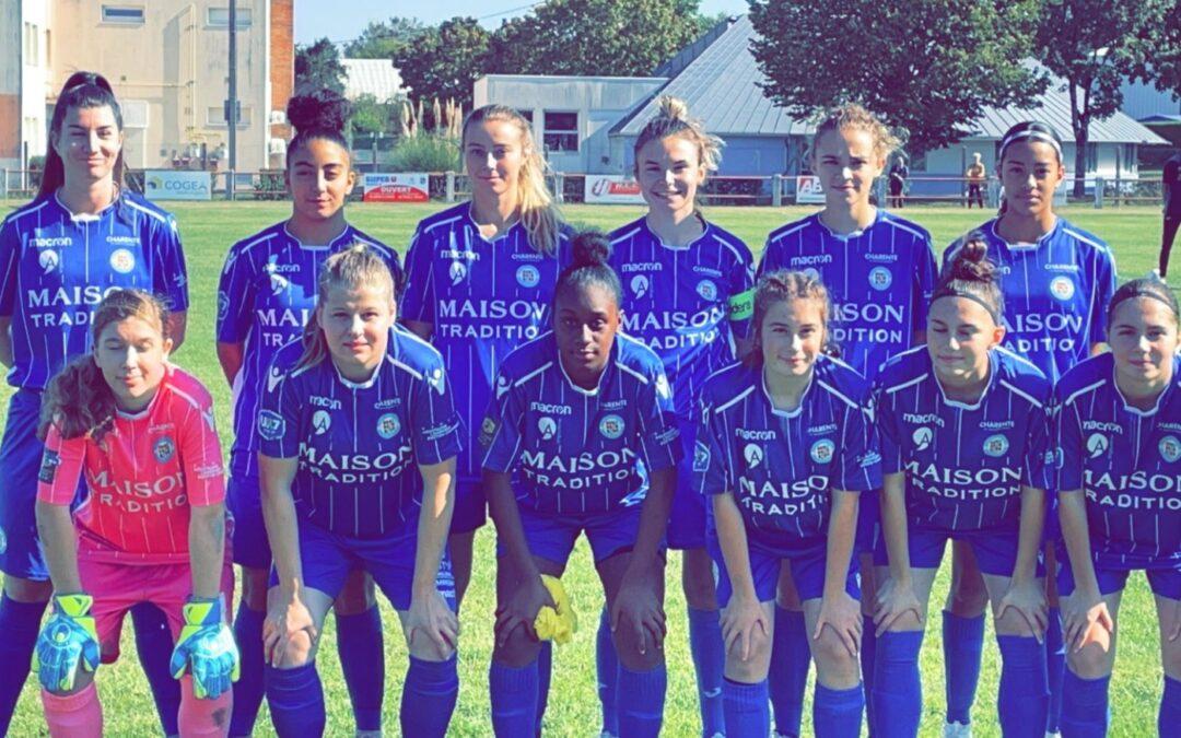 Séniors Féminines – Coqs Rouges Manslois 1-1 ACFC