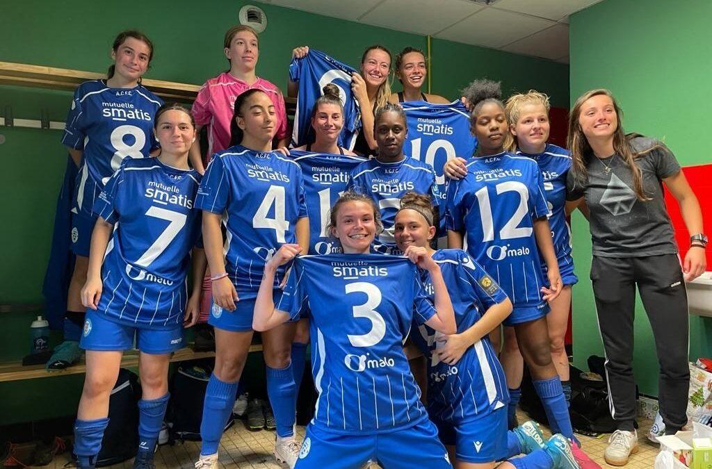 Coupe de france Féminine – ACFC 1 – 0 Bassens
