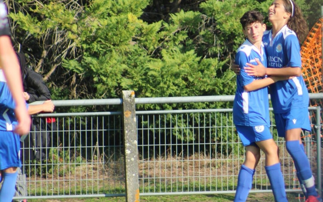 U14 – ACFC 5 – 0 Ruelle