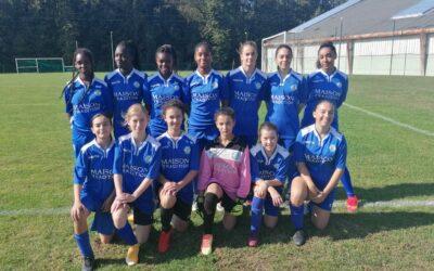 U14/U15F – ACFC 0-8 ES Saintes