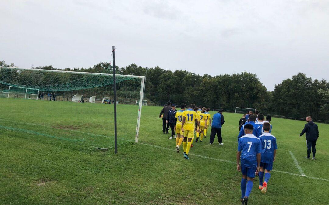 U15 – ACFC 1 – 2 Guéret
