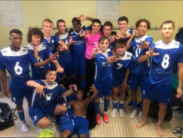 U16 – ACFC 3 – 0 Limoges